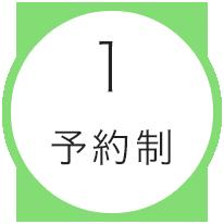 1.予約制